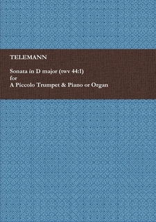Sheet music for Piccolo Trumpet